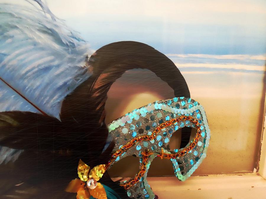 Mascarade Photograph - Mascarade by JAMART Photography