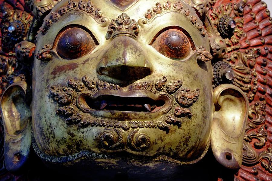 Mask Of Shiva Photograph