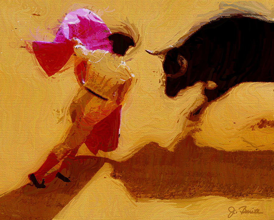 Matador Digital Art - Matador by Joe Bonita