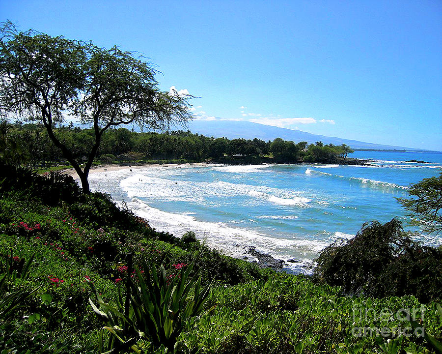 Hawaii Photograph - Mauna Kea Beach by Bette Phelan