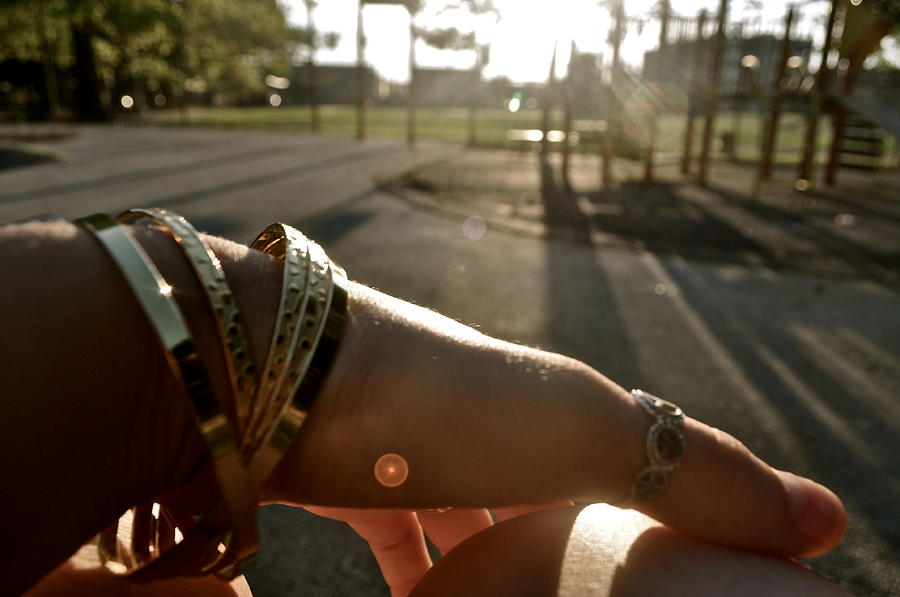 Bangles Photograph - me by Brynn Ditsche