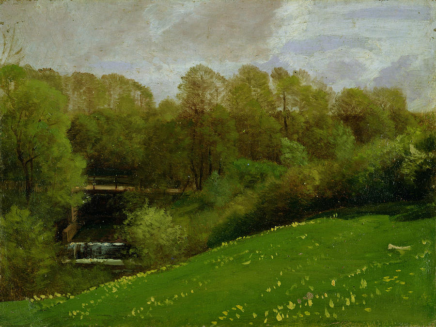 Meadow And Woodland Painting
