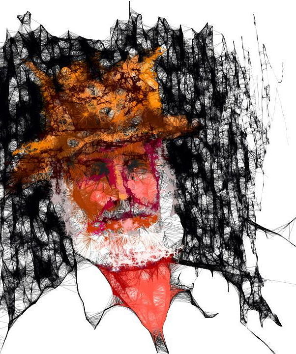 Digital Art - Me...after Scribbler Too by Roger Swezey