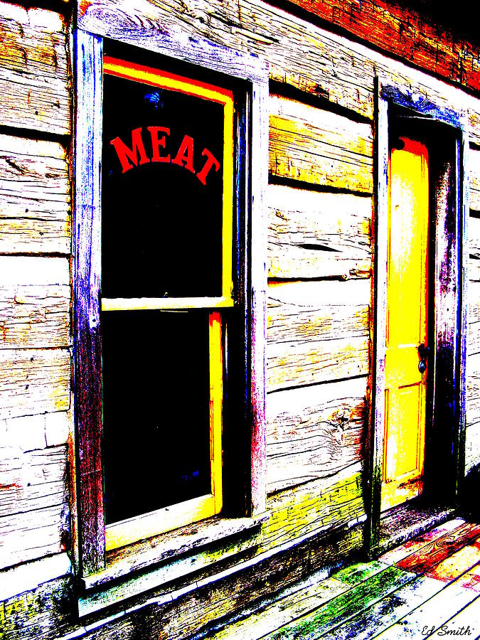 Meat  Photograph - Meat Market by Ed Smith