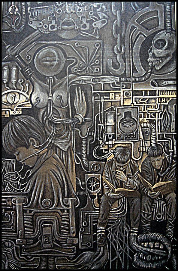 Mechanized Digital Art