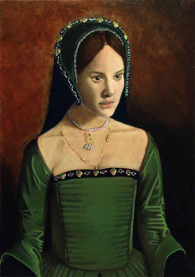 Medieval Girl II Painting by Robert Oneill
