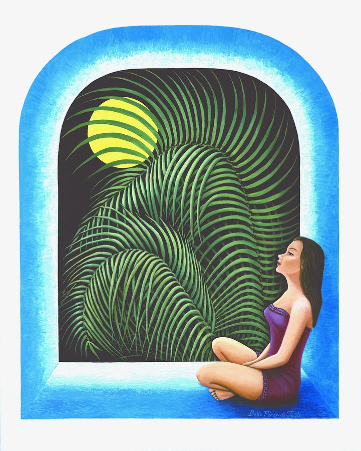 Yoga Relaxation Painting - Meditation by Belle Perez-de-Tagle