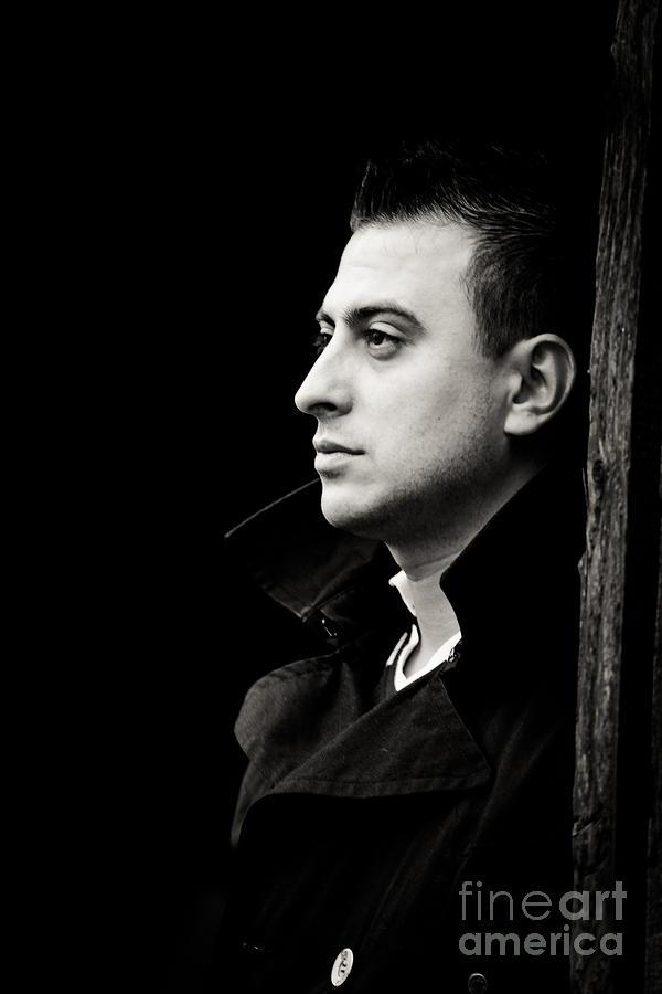 Young Man Photograph - Meditation by Gabriela Insuratelu