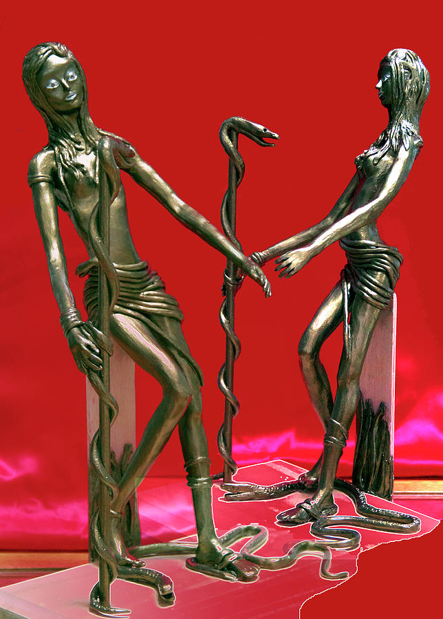 Medusa 2 Sculpture
