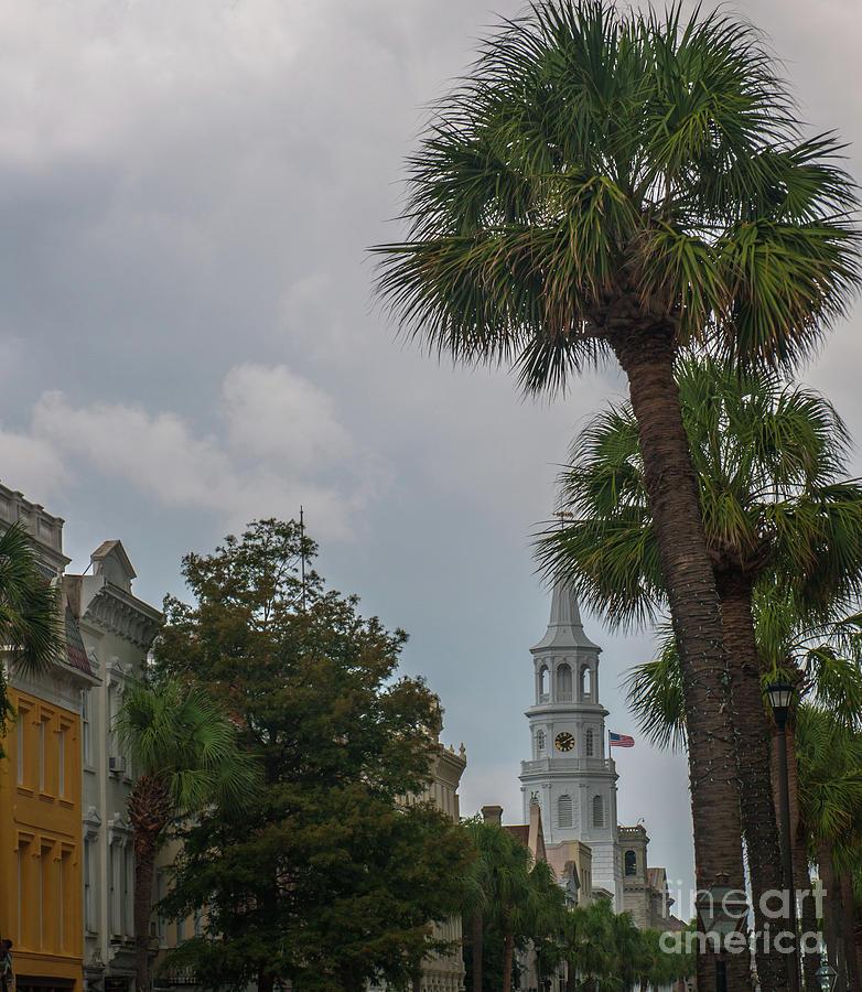 Meeting Street Church Bells Photograph