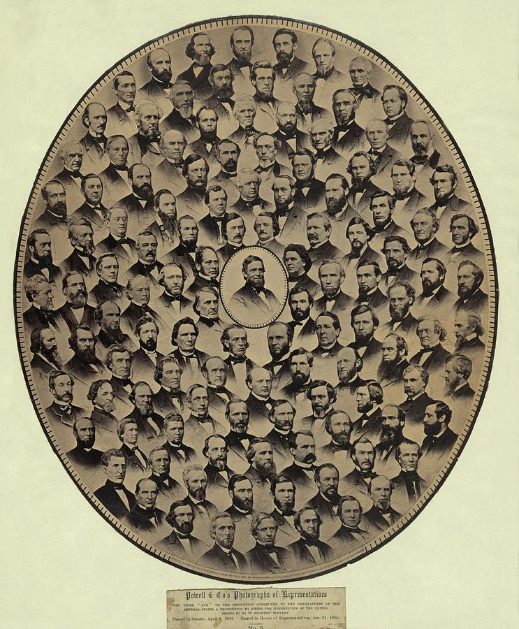 Members Of The U.s. House Photograph