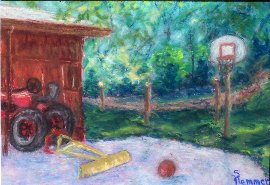 Landscape Painting - Memories 3 by Sandy Hemmer