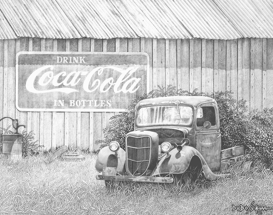 Antiques Drawing - Memories by Howard Dubois