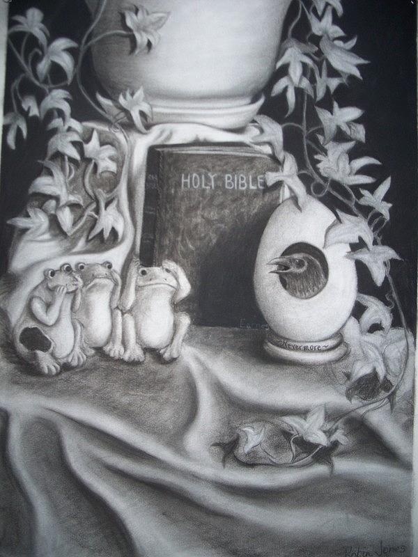 Memory Drawing - Memories Of You by Robin Jones