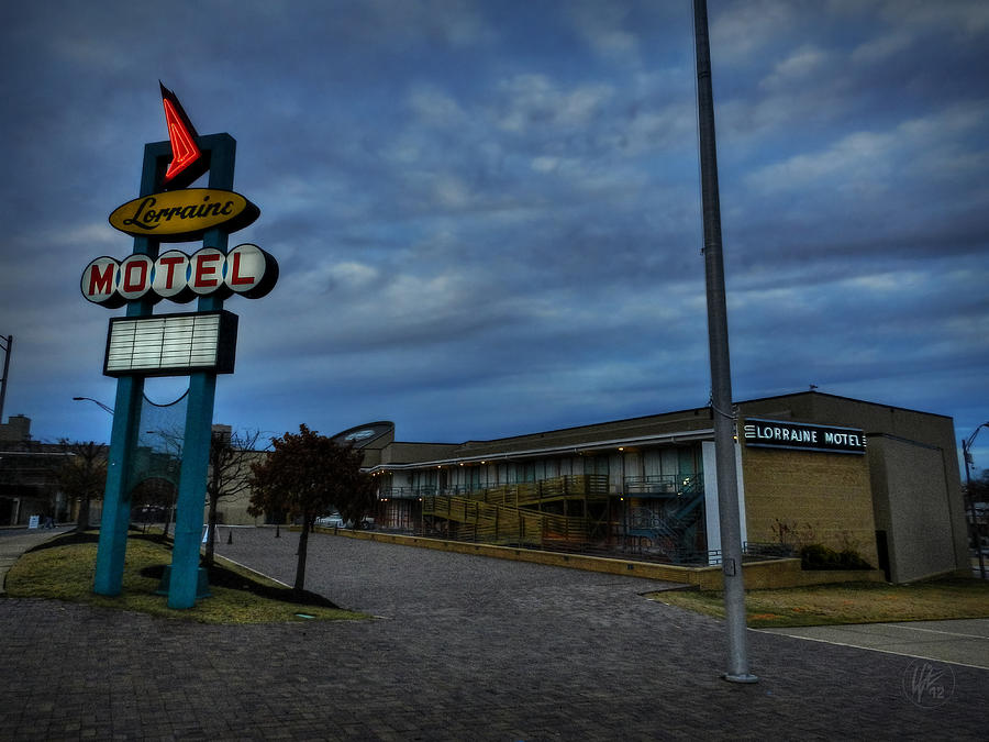 Lorraine Motel Photograph - Memphis - Dark Clouds Over The Lorraine Motel by Lance Vaughn
