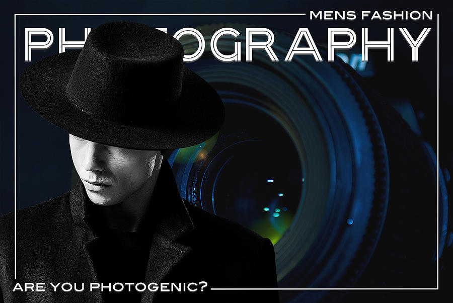 Mens Fashion Photography Are You Photogenic Digital Art