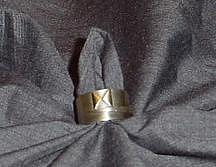 Sterling Silver And Other Metals Jewelry - Mens Pinky Ring by Joe Harvey