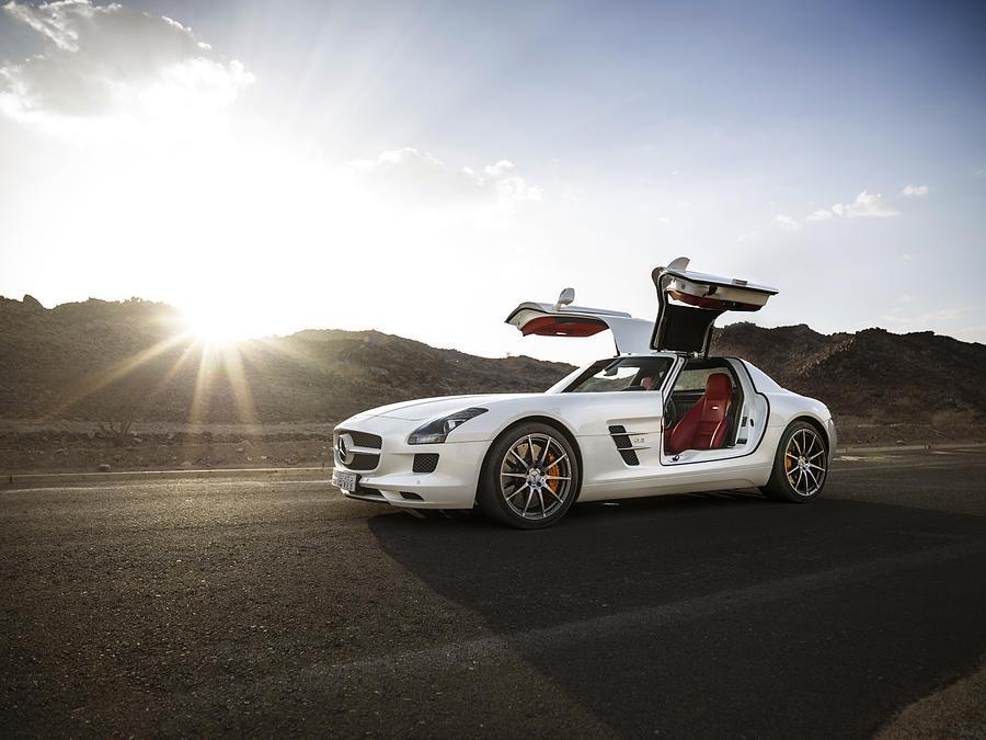 Mercedes benz sls amg in saudi arabia photograph by george for Mercedes benz saudi arabia