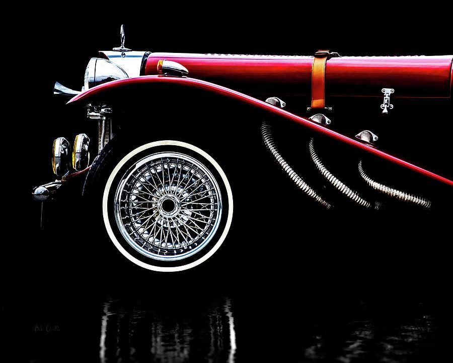 Car Photograph - Mercedes Benz Ssk  by Bob Orsillo