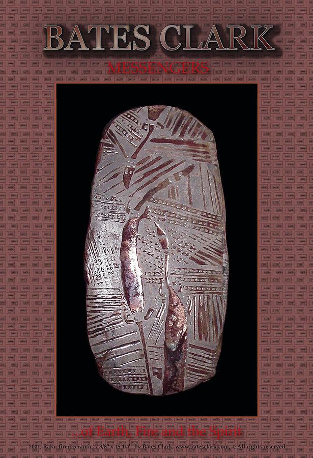 Giclee Print Sculpture - Messengers by Bates Clark