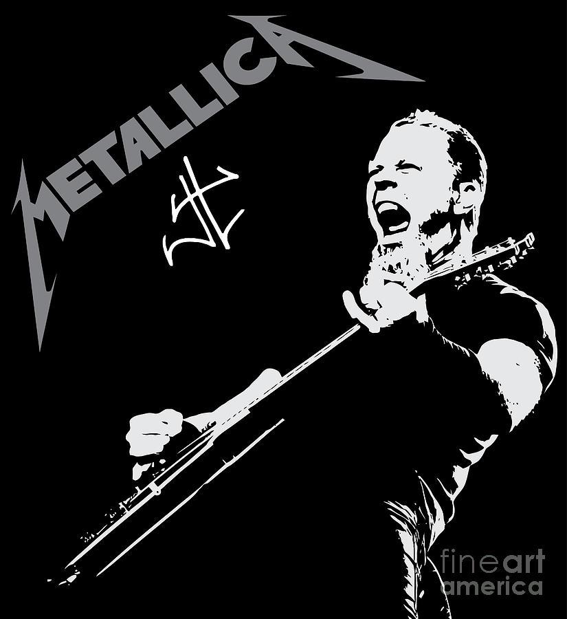 Metallica Digital Art