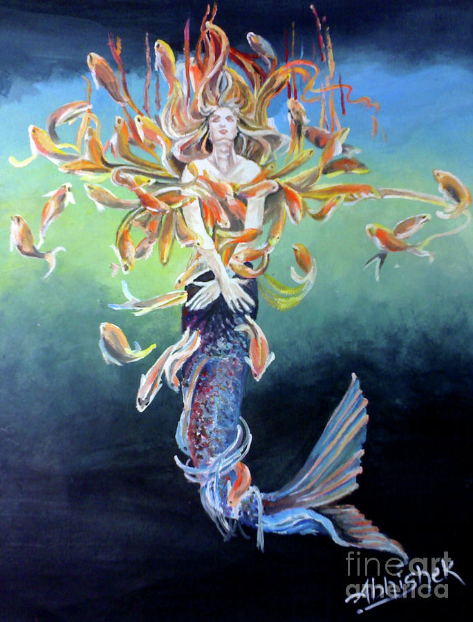 Metamophism ... Jalpari Painting
