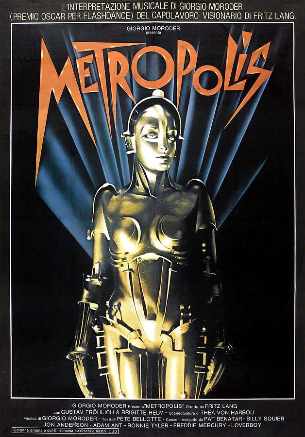 Metropolis, 1927 Poster For 1984 Photograph