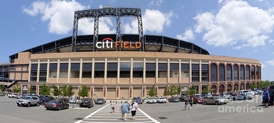 Mets Baseball Stadium Citi Field In Queens New York