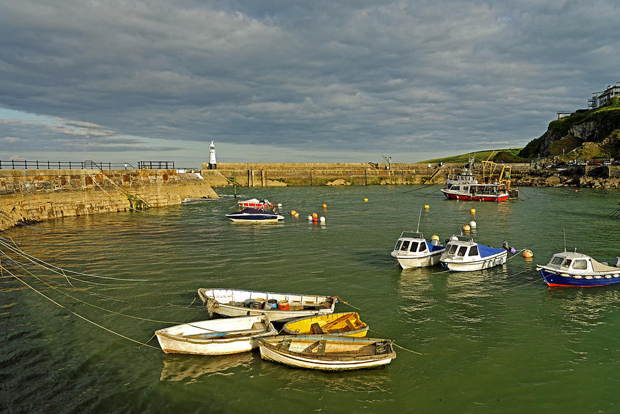 Mevagissey Outer Harbour Photograph