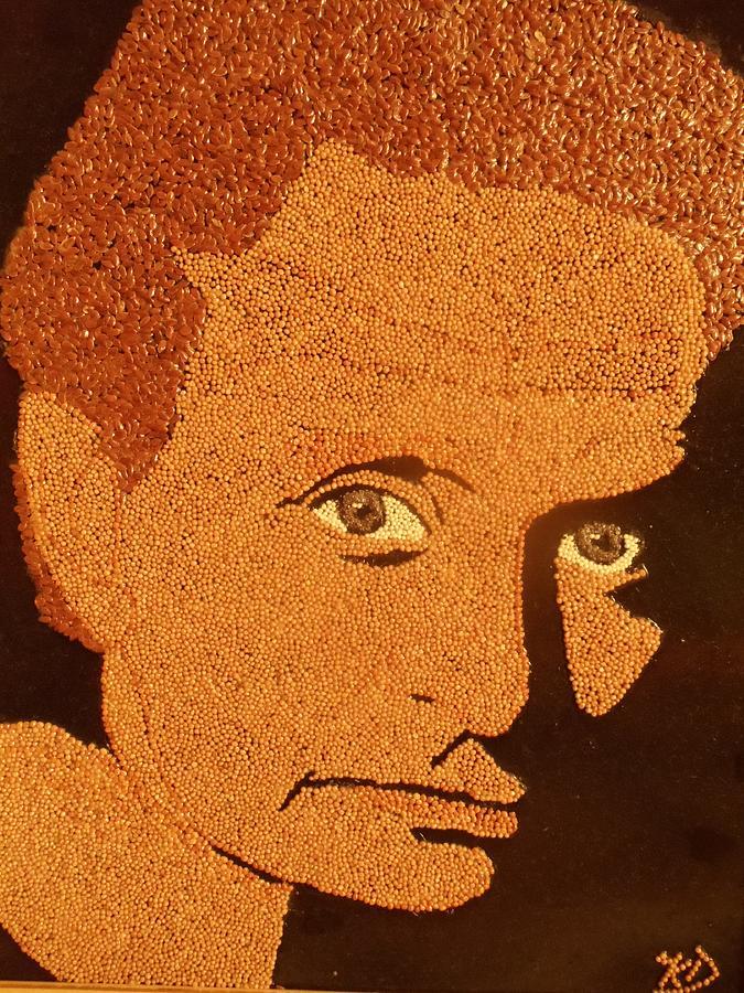 Portrait Relief - Michael Douglas by Kovats Daniela