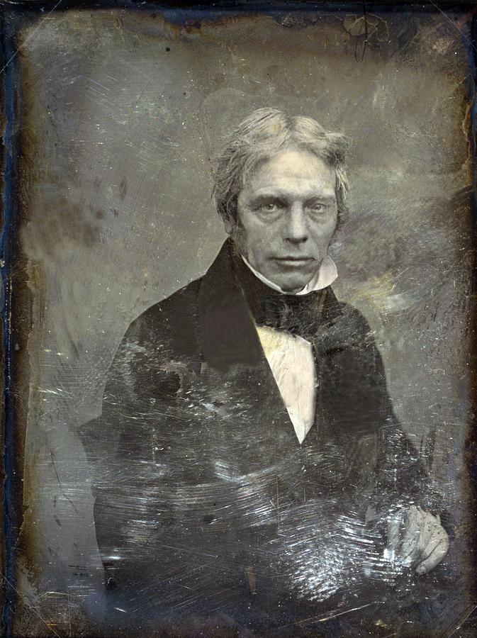 History Photograph - Michael Faraday 1791-1867 English by Everett