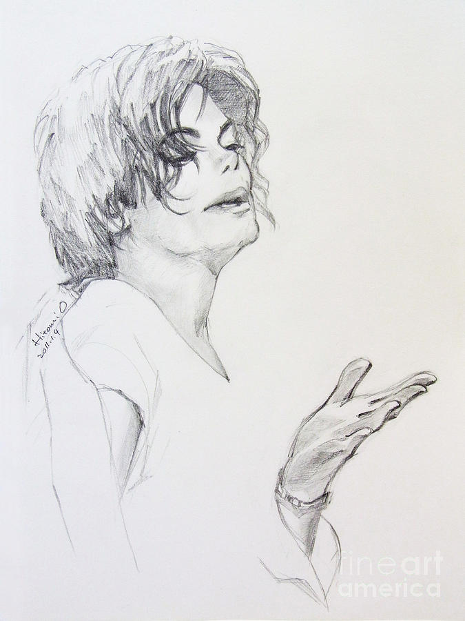 Michael Jackson - In 2001 Ny Drawing