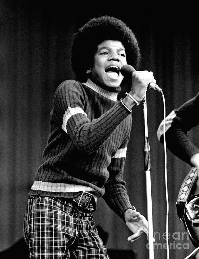 Michael Jackson 1972 Photograph