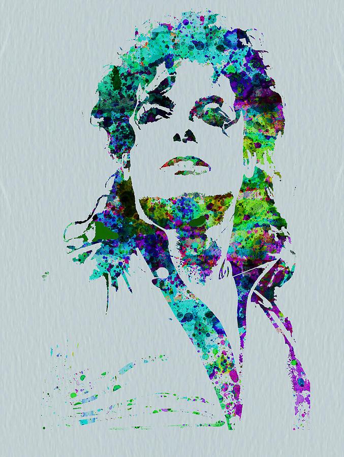 Michael Jackson Painting - Michael Jackson by Naxart Studio