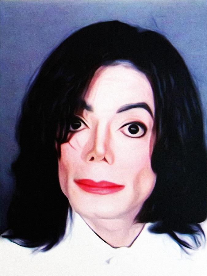 Michael Jackson Mugshot Photograph - Michael Jackson Mugshot by Bill Cannon