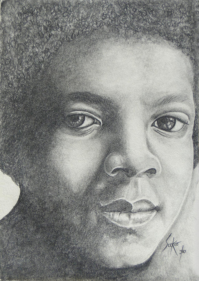 Michael Jackson. Mj Drawing - Michael Jackson by Stephen Sookoo