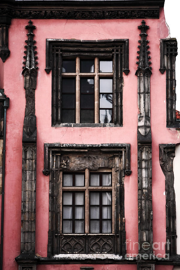 Midevil Windows Photograph