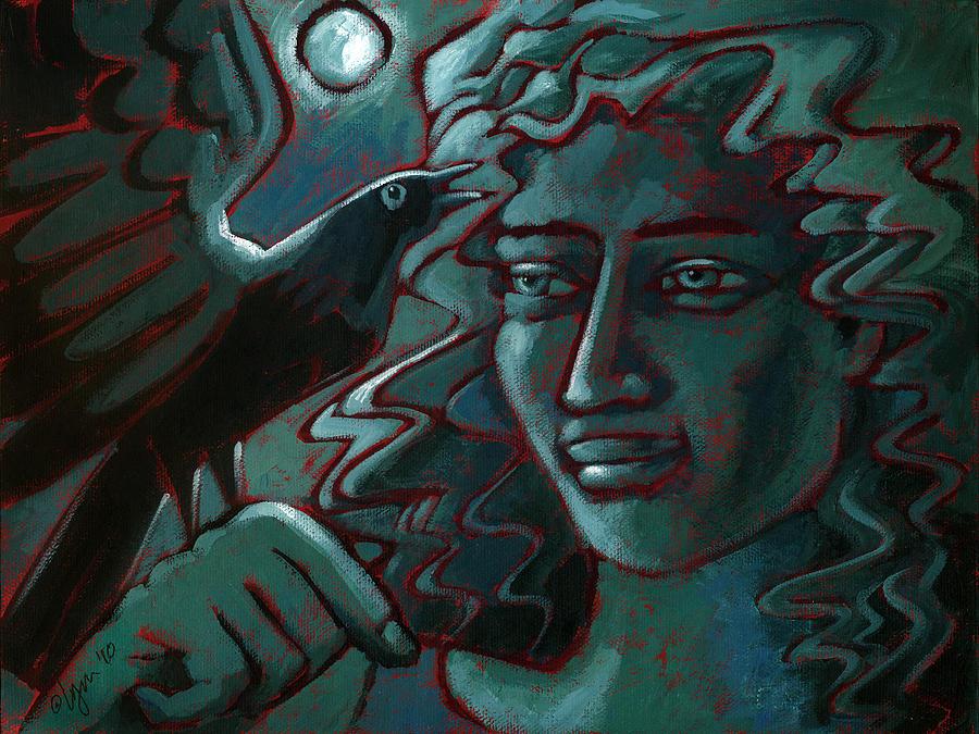 Light Painting - Midnight Message by Angela Treat Lyon