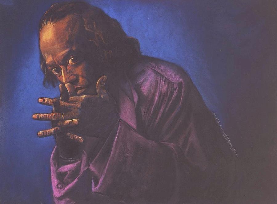 Miles Davis Pastel - Miles Davis by Curtis James