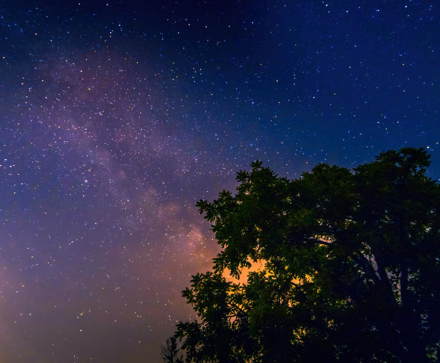 Milky Way In Ohio Photograph
