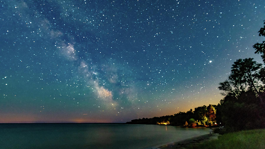 Milky Way Over The Bay Photograph