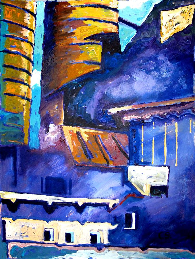 Mill Painting - Mill Viii by Charlie Spear