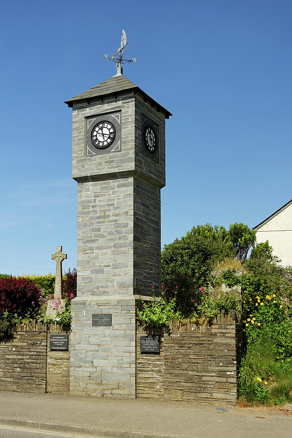 Millennium Clock Tower - Delabole Photograph