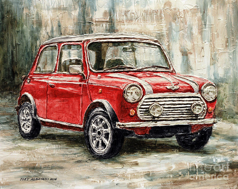 Mini Cooper S 2000 Painting By Joey Agbayani