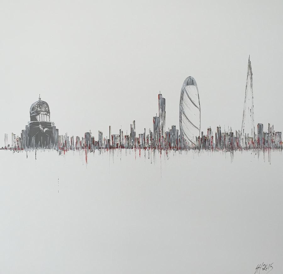 Minimal london painting by simon harris for Minimal art gallery london
