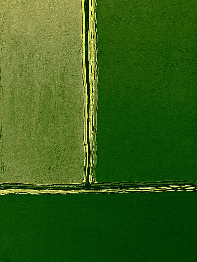 Minimalist Color Field #c3 Mixed Media