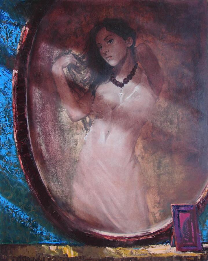 Ignatenko Painting - Mirror For The Sun by Sergey Ignatenko