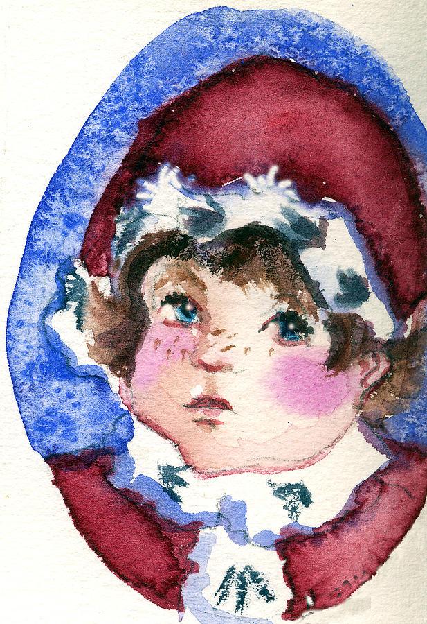 Miss Sugar Plum Painting