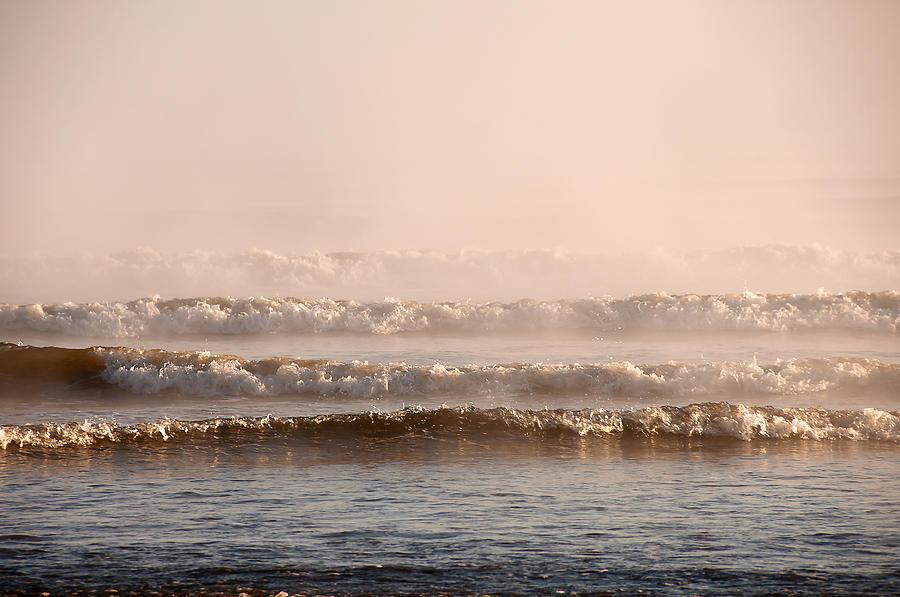 Blue Photograph - Misty Mist by Svetlana Sewell