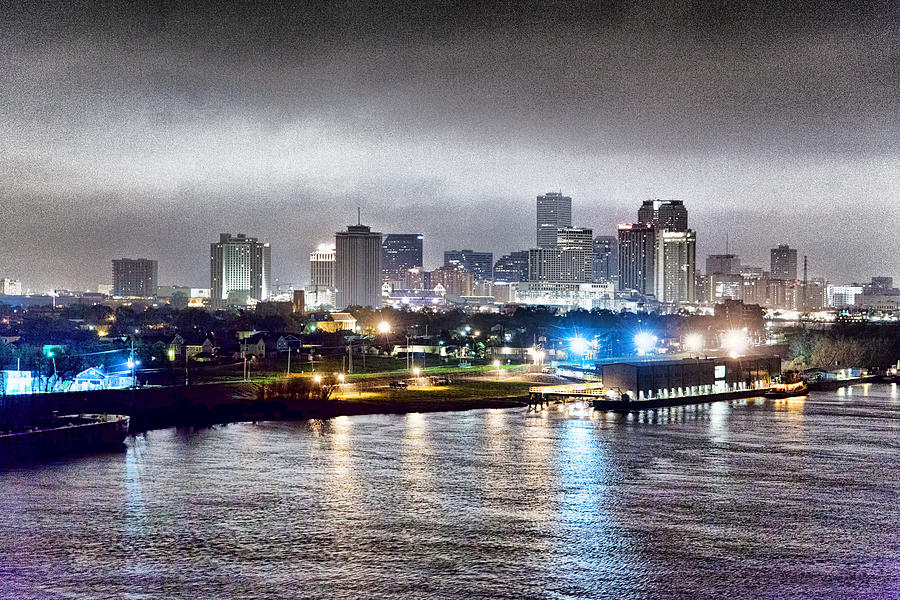 Misty Morning In New Orleans Photograph